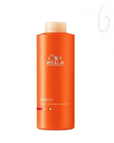 Wella Professionals Care Enrich Shampoo Capelli Grossi 500ml