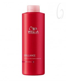 Wella Professionals Care Brilliance Shampoo Capelli Normali Fini 1000ml