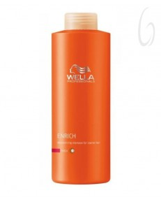 Wella Professionals Care Enrich Shampoo Capelli Grossi 1000ml