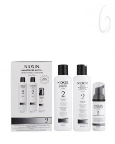 Nioxin Sistema 2 Trial Kit 150ml+150ml+40ml