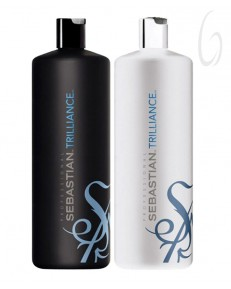 Kit Sebastian Trilliance Shampoo 1l + Conditioner 1l