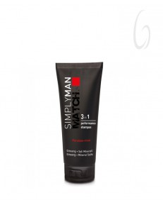 Nouvelle Simply Man 3in1 Performance Shampoo 200ml