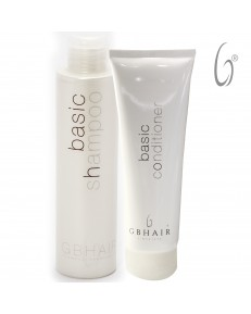Kit GB Hair Basic Shampoo 300 ml + Basic Conditioner 250 ml