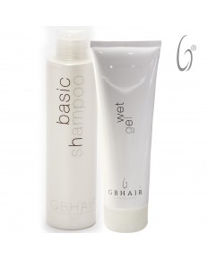 Kit GB Hair Basic Shampoo 300 ml + Wet Gel 250 ml