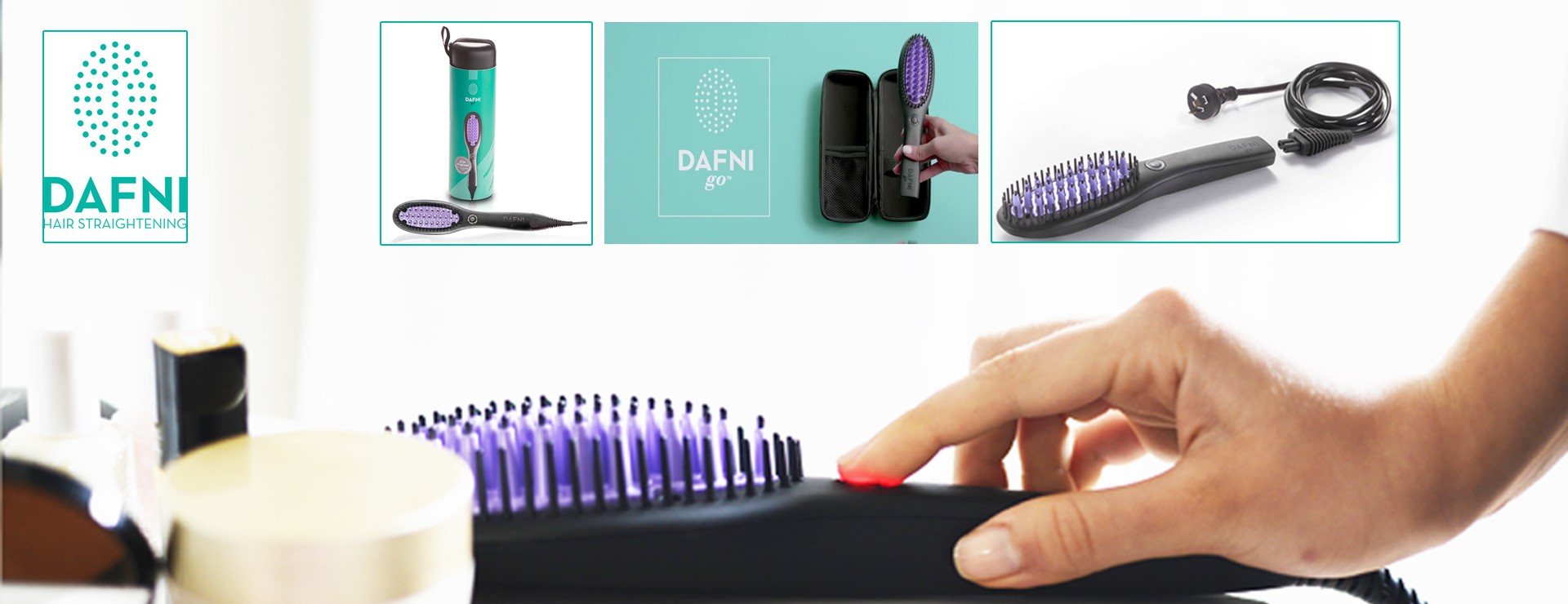DAFNI GO Hair Ceramic Brush