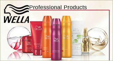 Dedicated line Wella Professional care, color and beauty of your hair